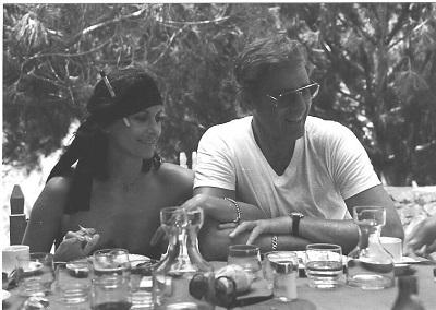 Irène u Paul Sardinien 1983